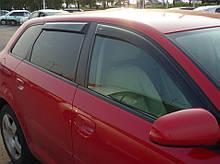 Дефлектори вікон (вітровики) Audi A3 Hb 5d (8P) 2004-2012 (Ауді А3) Cobra Tuning