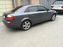 Дефлектори вікон (вітровики) Audi A4 Avant (8E, B6/B7) 2001-2008 (Ауді А4 Авант) Cobra Tuning