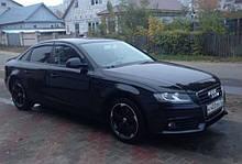 Дефлектори вікон (вітровики) Audi A4 Sd (B8/8K) 2008-2011;2012 (Ауді А4) Cobra Tuning