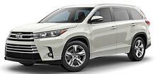 Защита двигателя на Toyota Highlander (с 2019 --)