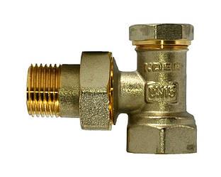 KP вентиль радиаторный настроечный угловой 3/4x3/4 (KR.902)