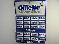 Лезвия двухсторонние Gillette Silver ( Жиллетт сталь ) 5 шт.Оригинал