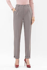 Женские брюки серые Мире