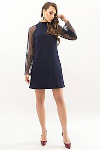 Женское платье синие Вилма д/р