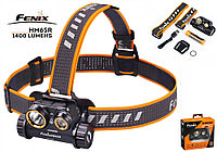Налобный фонарь FENIX HM65R Raptor+Аккумулятор 3500mAh (1400LM, XM-L2 U2+XP-G2 R5, 1*18650, IP68, USB)