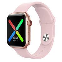 Смарт Часы Smart Watch X7 Фитнес браслет Pink
