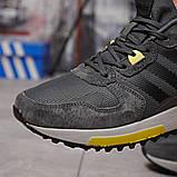 Кроссовки мужские демисезонные Adidas Zx 700 HO темно-серые, фото 7