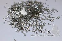 Стразы аналог SWAROVSKI ss 3 Crystal (100 шт)