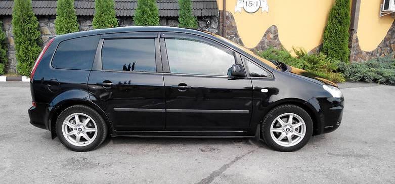 Дефлектори вікон (вітровики) Ford C-Max I 2003-2007; 2007 (Форд С-макс) Cobra Tuning