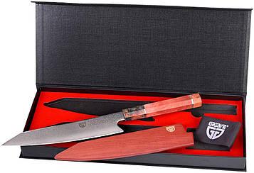 Нож шеф-повара из дамасской стали Gräwe лезвие 20,5 см