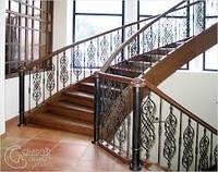 Ограждения наружных лестниц