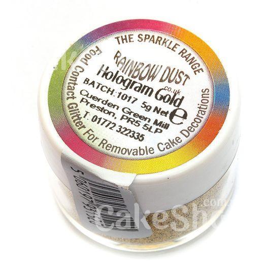 Блискітки Rainbow Hologram Gold