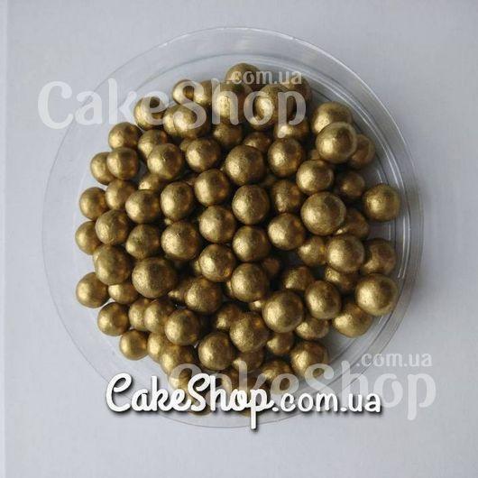 Жемчуг сахарный перламутровый Античное золото 7 мм