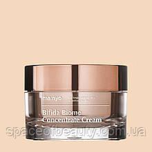 Концентрований крем з біфідобактеріями Bifida Biome Concentrate Cream Manyo 50 ml