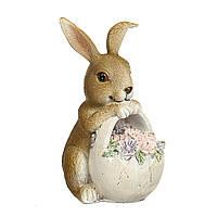 Статуэтка Пасхальный кролик 12х8 см 12007-086