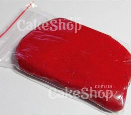 Мастика кондитерская для обтяжки тортов красная 0,5 кг