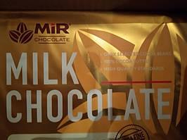 Шоколад МИР  молочный  28%-0,100 грм