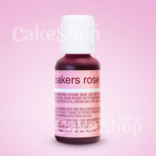 Гелевий краситель Chefmaster Liqua-Gel Bakers Rose