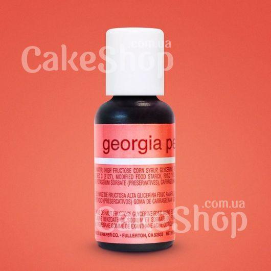 Гелевый краситель Chefmaster Liqua-Gel Georgia Peach (Персиковый)