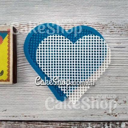 Силиконовый коврик Сердце (для гибкого айсинга)