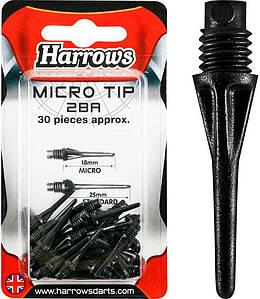 Дартс наконечники для дротиков производства Harrows Англия (30шт.)