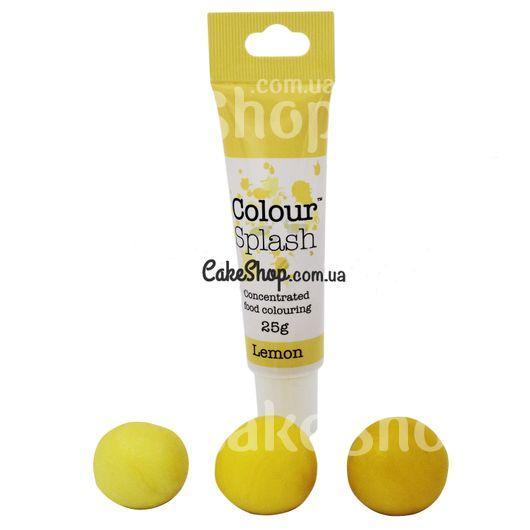 Гелевый краситель Colour Splash, 25 г Lemon