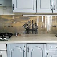Корабли - Фотопечать на фартук кухни