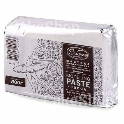 Мастика Criamo для моделирования Какао, 0,5 кг