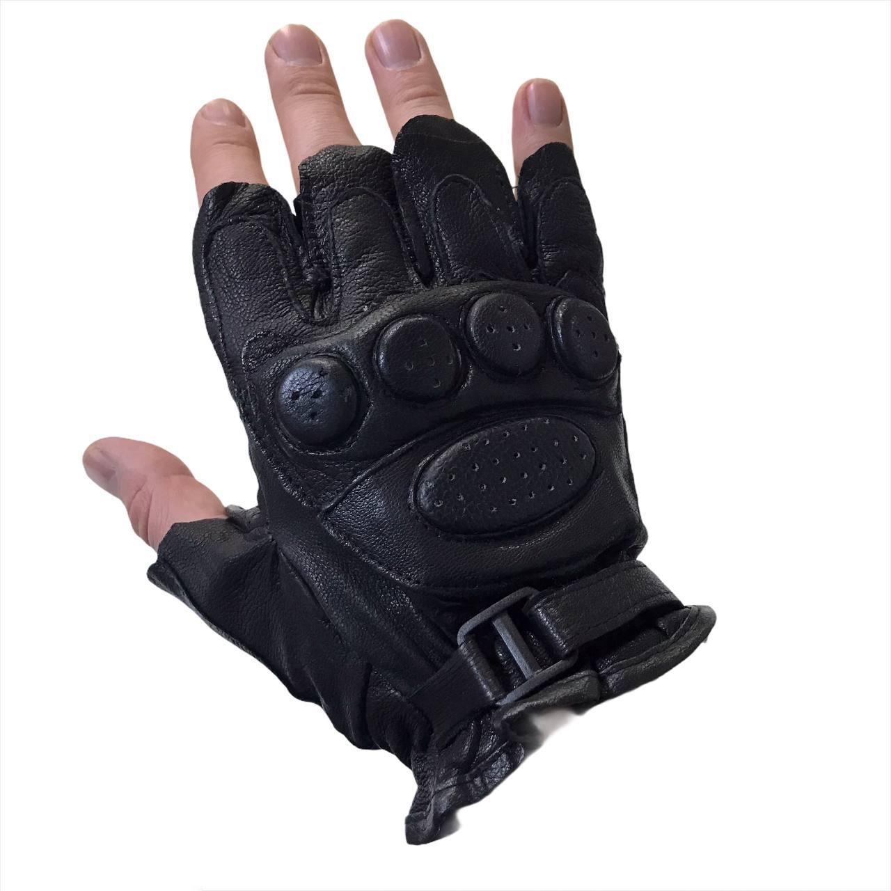 Спортивні шкіряні рукавички Bark