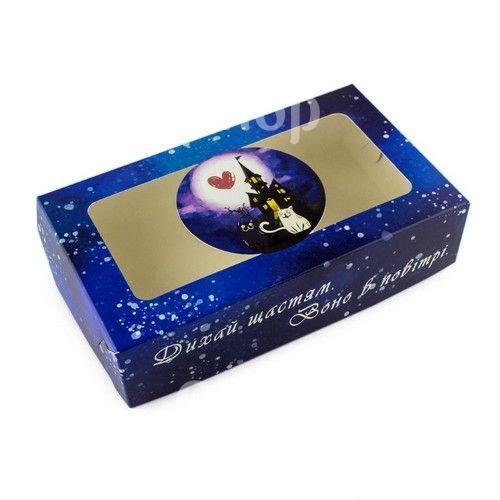 Коробка для эклеров, зефира Котэ