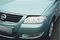 Реснички на фары Nissan Almera G Classic (1998-)