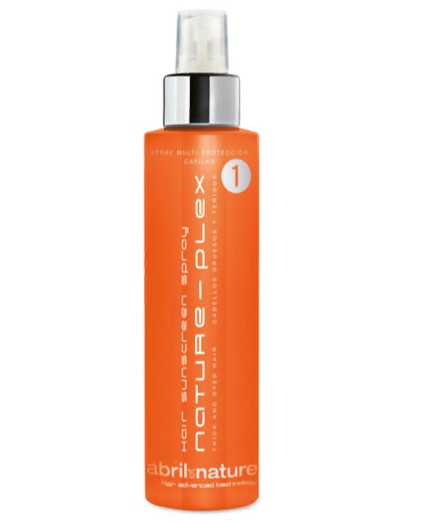 Двофазний спрей для фарбованого і густого волосся Abril et Nature Nature-Plex Hair Sunscreen Spray 1 200 мл