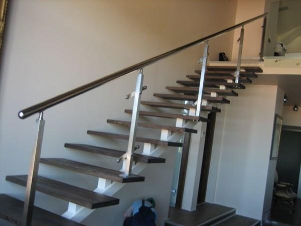 Сварка лестницы