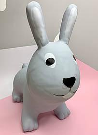 Прыгун резиновый Кролик серый