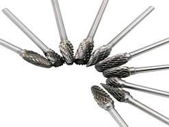 Набор борфрез по металлу для гравера Dremel, 10 шт