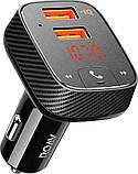 Anker Roav F2 FM-трансмиттер c GPS локатором Bluetooth Громкая связь, разъем 3.5mm  Smart Charge Car 2.4А, фото 7