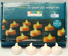 Свічки світлодіодні led Ledart набір 24шт