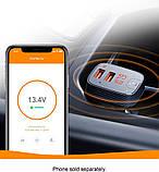 Anker Roav F2 FM-трансмиттер c GPS локатором Bluetooth Громкая связь, разъем 3.5mm  Smart Charge Car 2.4А, фото 4