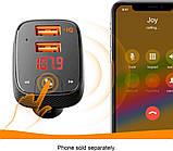 Anker Roav F2 FM-трансмиттер c GPS локатором Bluetooth Громкая связь, разъем 3.5mm  Smart Charge Car 2.4А, фото 3