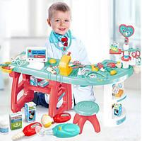 Детский игровой набор доктор с аксессуарами с подсветкой и звуком 1821622_660-61