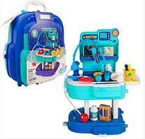 Детский  игрушечный набор доктора в чемодане 2в1 B1991211