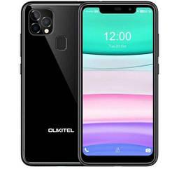 Смартфон OUKITEL C22 4/128 Gb Black  MediaTek Helio A22 4000 мАч