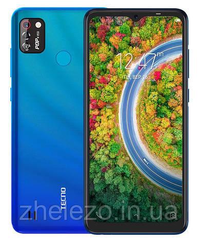 "Смартфон Tecno Pop 4 Pro (BC3) 1/16GB Dual Sim Vacation Blue (4895180760846); 6.52"" (1200х540) IPS / MediaTek, фото 2"