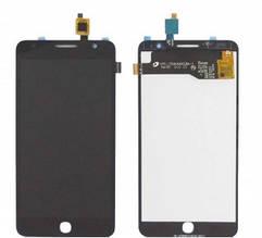 Дисплей Alcatel One Touch 5022D Pop Star с сенсором (тачскрином) черный