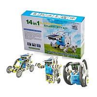 Электронный робот-конструктор на солнечной батарее SOLAR ROBOT 14 IN 1