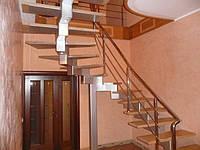 Лестницы на второй этаж эконом класса