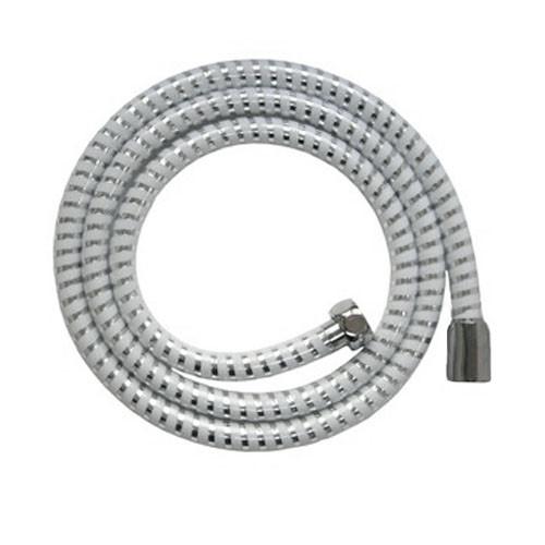 Шланг для душа AQUAVITA 3150, ПВХ сріблясто-білий SL-13 1,5 м