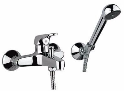 Смеситель для ванны Santan MISTRAL 42CR1500 с душевым гарнитуром
