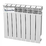Секція біметалічного радіатора AQUAVITA 500/80 D6, 30 бар, фото 2