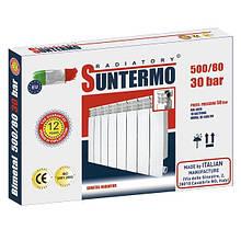 Секція біметалічного радіатора SUNTERMO 500/80 30 бар